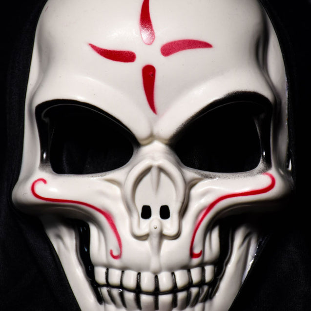 Halloween Skull Vampire Mask Bar Dance Horror Scary Skeleton Soul Props Demon Devil