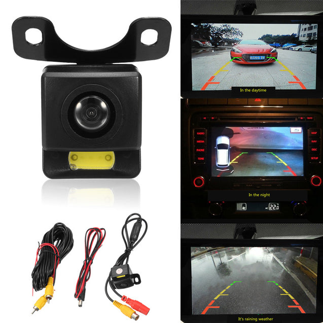 Waterproof Car Rear View 170 Degree Wide Angle Rear View Reverse Backup Parking Camera