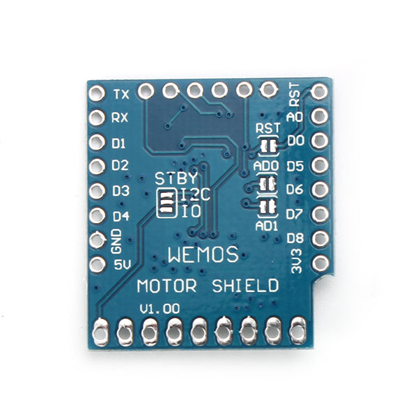 3Pcs Wemos Motor Shield For WeMos D1 Mini I2C Dual Motor Driver TB6612FNGV1.0.0