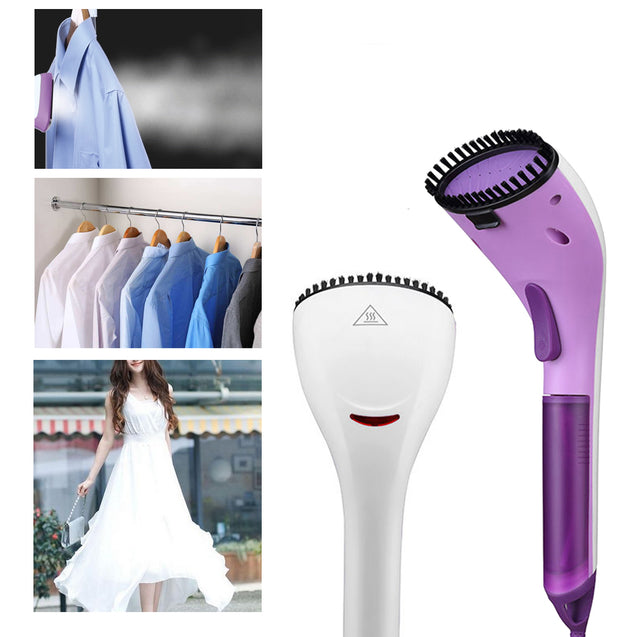 1000W Handheld Household Travel Iron Electric Steam Iron Portable Garment Fabric Brush Clothes