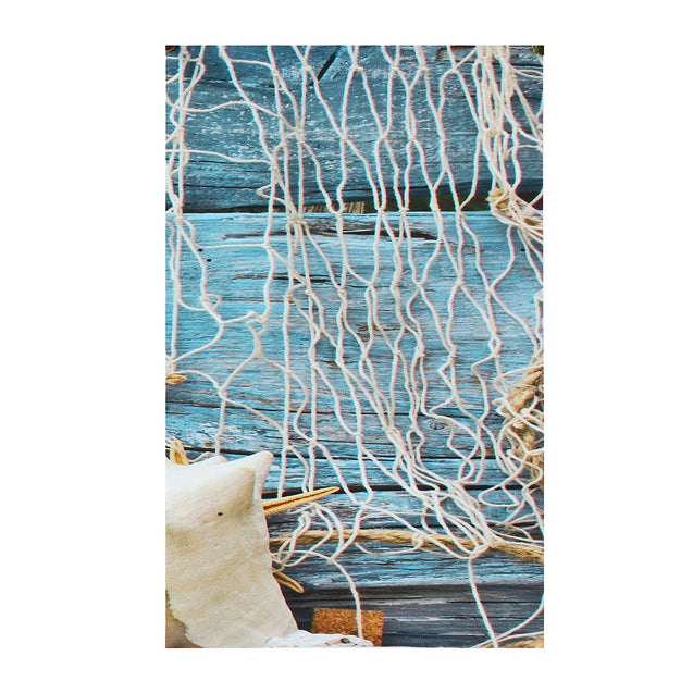 5PCS Conch Fishing Net Starfish Canvas Painting Waterproof Pictures Frameless Wall Paintings