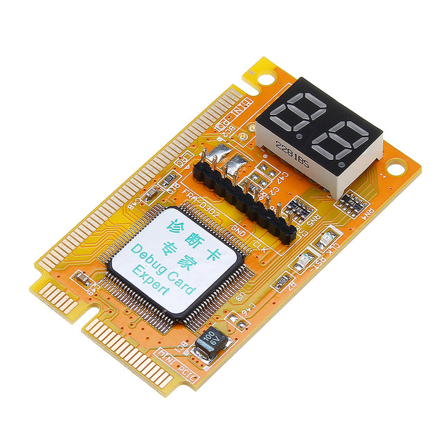 5pcs 3 in 1 Mini PCI/PCI-E Card LPC PC Laptop Analyzer Tester Module Diagnostic Post Test Card Board