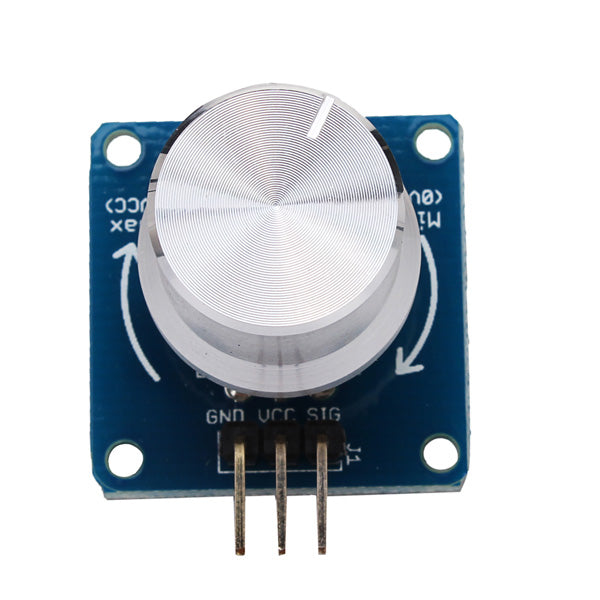 3Pcs Adjustable Potentiometer Volume Control Knob Switch Rotary Angle Sensor Module For Arduino