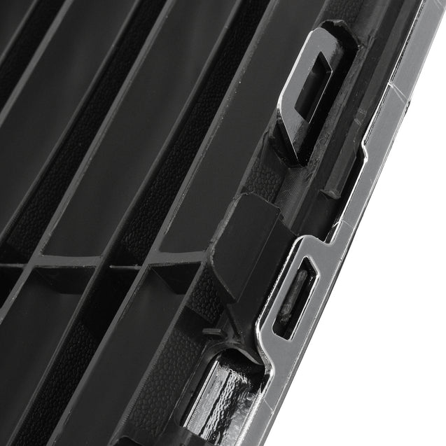 Car Front Bumper Radiator Centre Grille Panel Trim Fit For Ford For Fiesta 2013-2016