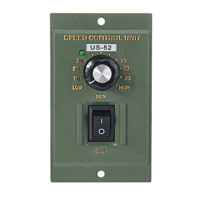 US-52 AC220V 50Hz 15W Digital Adjustable Stepless Motor Speed Controller Tool Part Accessory 90-1400rpm