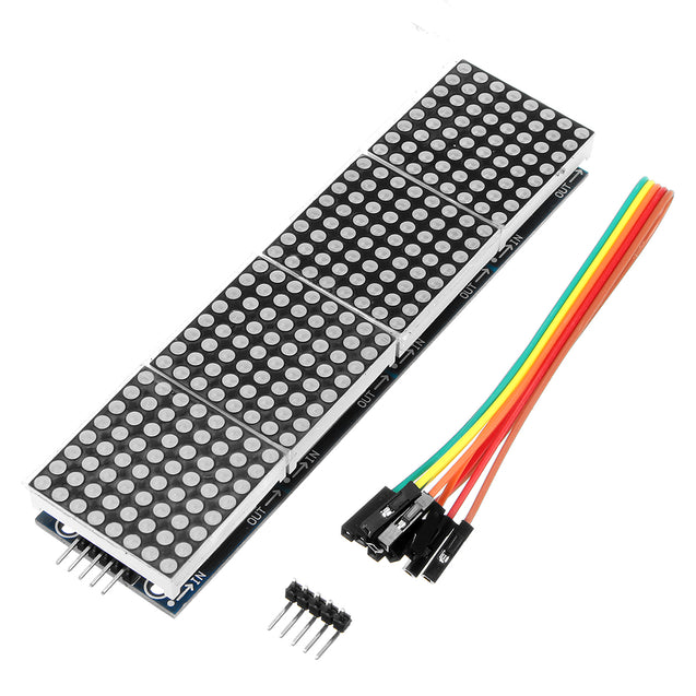 5pcs Geekcreit MAX7219 Dot Matrix Module 4-in-1 Display For Arduino