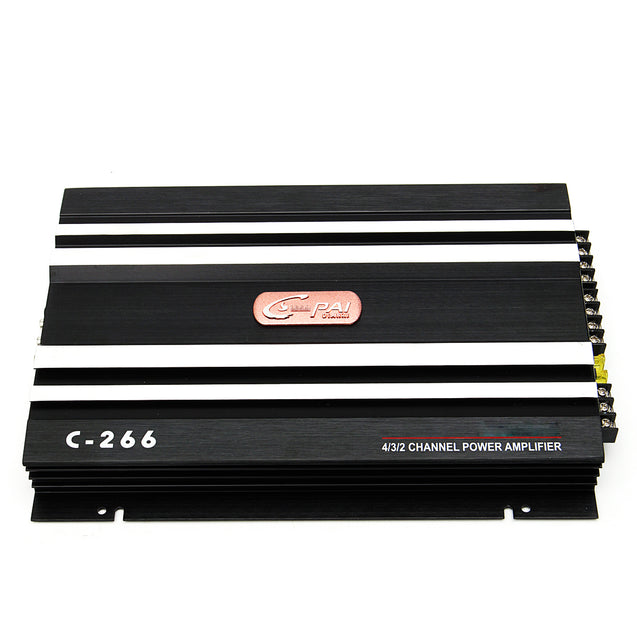 Car Audio Power Amplifier 1600 Watt 4 Channel 12V Car Amplifer