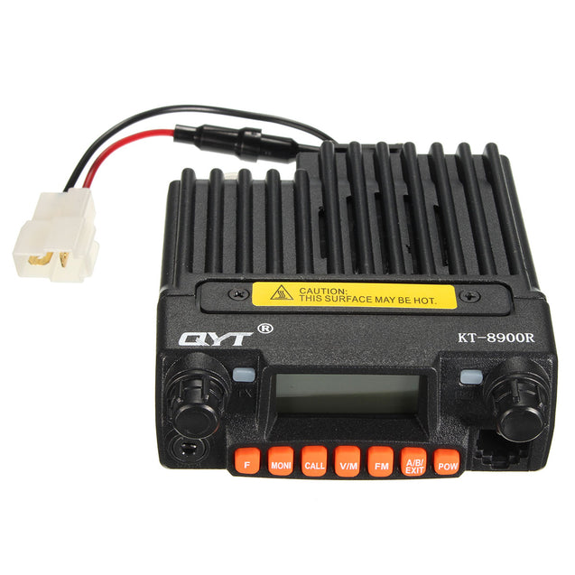 QYT KT-8900R Mini Transceiver Tri Band Mobile Radio 136-174/240-260/400-480MHz