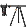 QZSD Q999H 61 Inch Portable Compact Travel Horizontal System Tripod for DSLR Camera