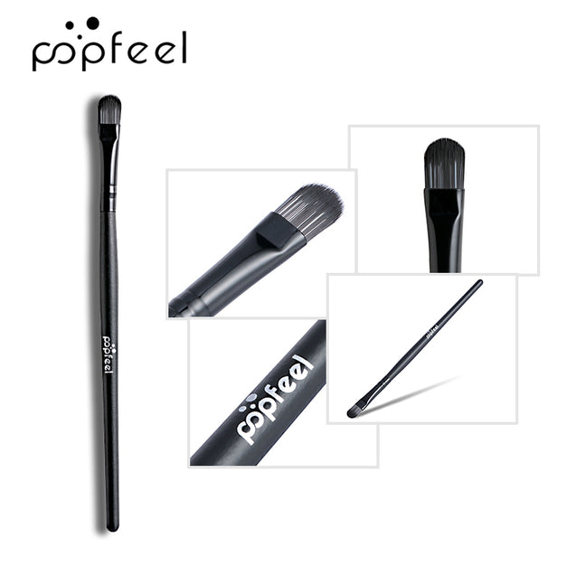 POPFEEL 5Pcs Makeup Set Easy To Apply Foundation Liquid  Eye Shadow Foundation With Brush Tool