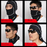 Outdoor Unisex Fleece Winter Windproof Ski Motorcycle Face Mask Hood Hat