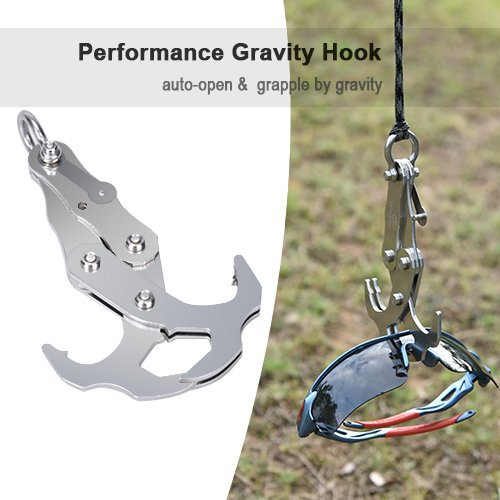 Snap Version of Outdoor Climbing Multi-functional Climbing Hook Gravity Stainless Steel