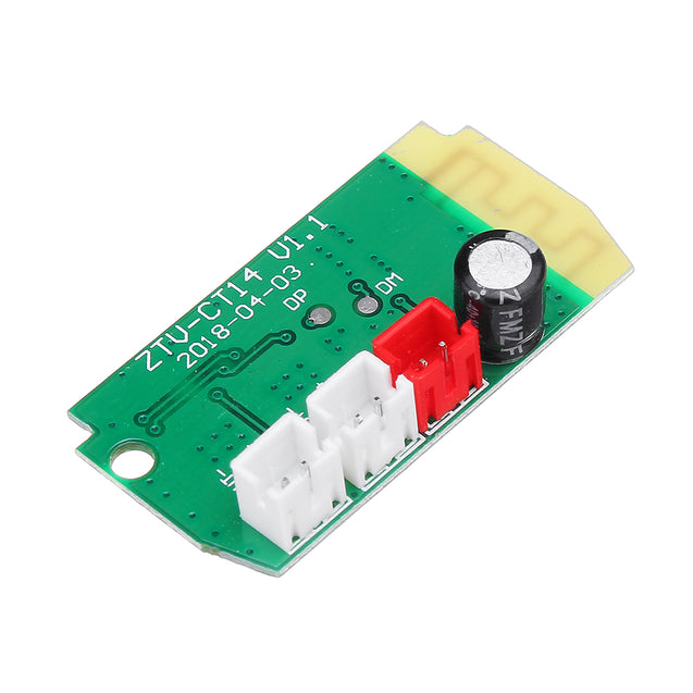 5pcs 3Wx2 Mini Bluetooth Receiver Module With 4Ohm Speakers Power Amplifier Audio Board Decoding