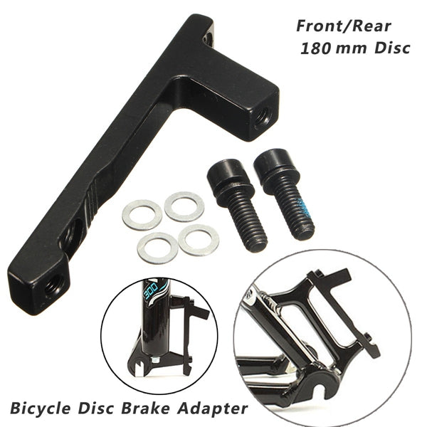 CNC Disc BrakE-mount Adaptor for 180mm Post Caliper To Post Fork Front Aluminium
