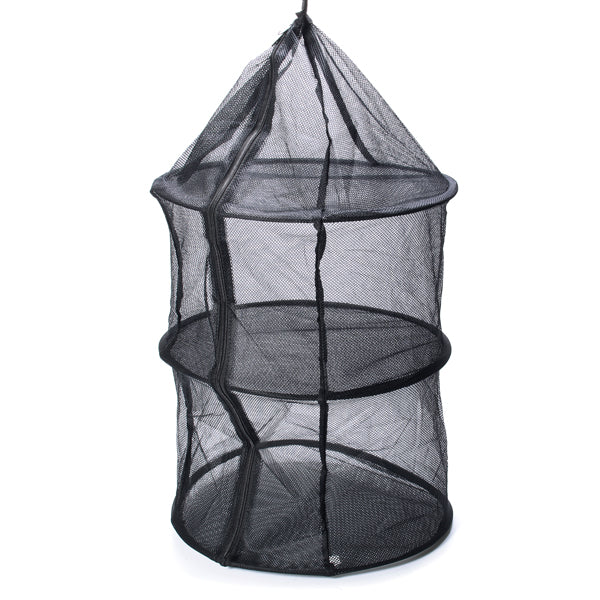 3 Layer Anti-mosquito Hanging Drying Storage Basket for Outdoor Fishing Camping