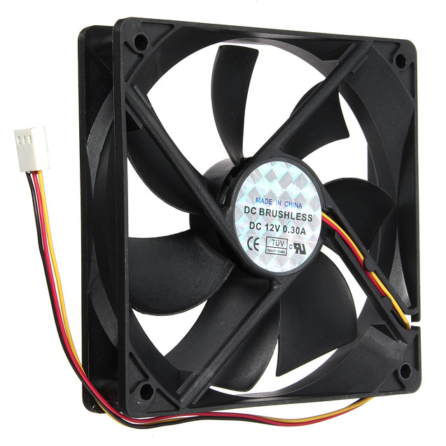 3 Pin 120*120*25mm CPU Cooling Fan Cooler