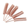 100Pcs 433MHz Internal Build-in Spring Antenna Copper Solder 34mm