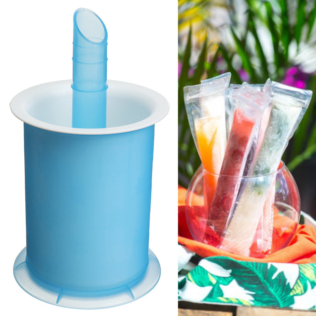 DIY Summer Freezer Frozen Lolly Ice Cream Popsicle Yogurt Mold Maker Cup
