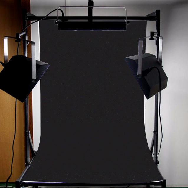 3x5ft Black Photography Backdrop Background Studio Photo Indoor Screen Props