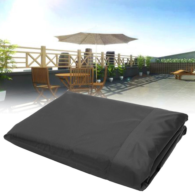 236.2x275.6inch Polyester Shelter Outdoor Waterproof Shade Sail Sun Top Heavy Duty Canopy Awnings