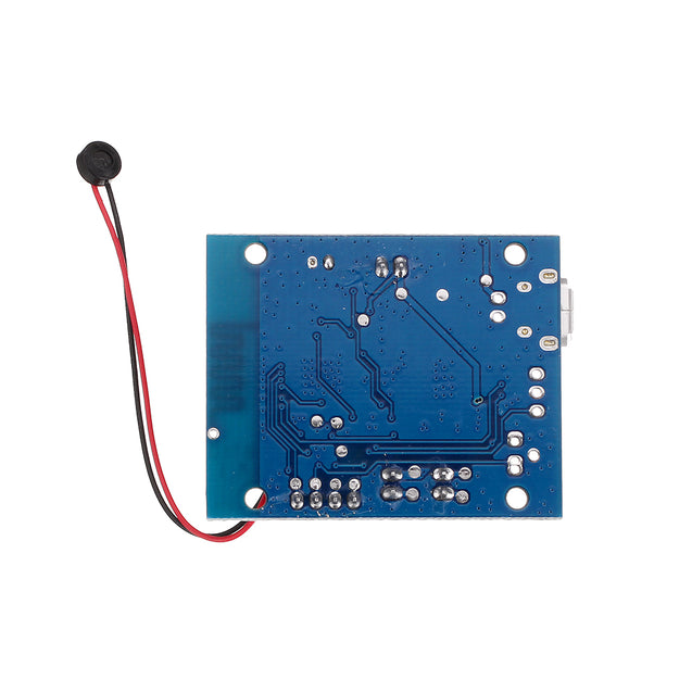 5W+5W PAM8406 Stereo Amplifier Board Pure Bluetooth 4.1 Audio Receiver Module with AEC/ANC Noise Elimination for Hand-free Call