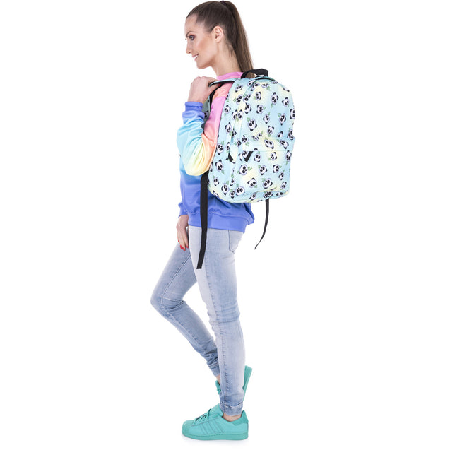 Unisex 3D Print Panda Backpack Travel Rucksack Girl School College Student Bag