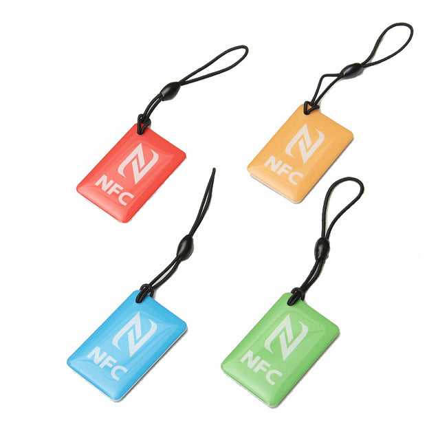 4PCS Waterproof NFC Tags NDEF Ntag216 13.56mhz RFID Smart Card