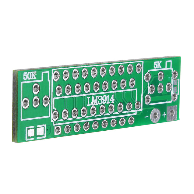 3pcs Red LM3914 Battery Capacity Indicator Module LED Power Level Tester Display Board
