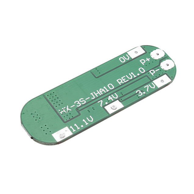 3S 10A 12.6V Li-ion 18650 Charger PCB BMS Lithium Battery Protection Board with Overcurrent Protection