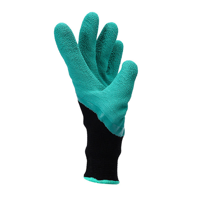 Multifunctional Garden Gloves with Fingertips Claws Quick Easy to Dig and Plant