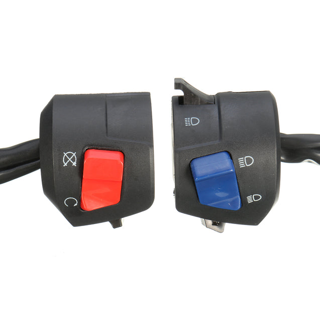 Universal 7/8inch 22MM Motorcycle Handlebar Horn Turn Signal Light Control Switch
