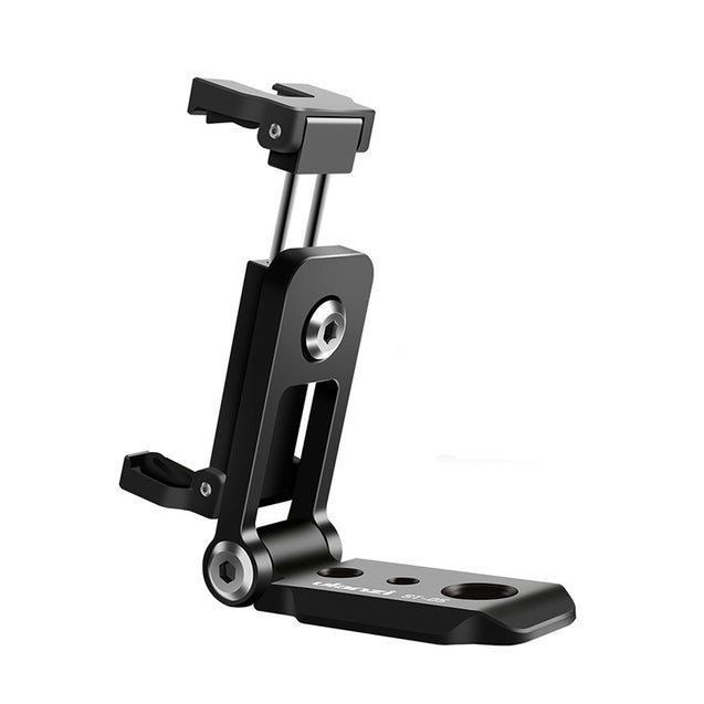 Ulanzi ST-05 Vertical 360 Rotation Foldable Photography Phone Clip Holder with Cold Shoe