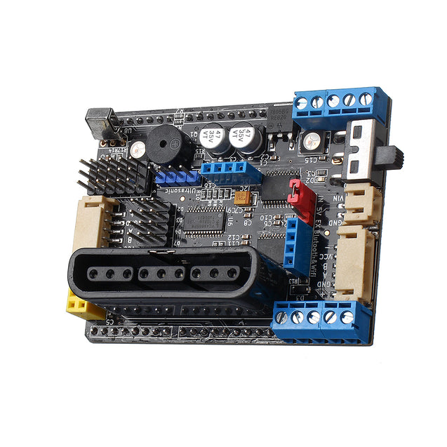 Four-way Smart Car Motor Driver Board PS2 bluetooth