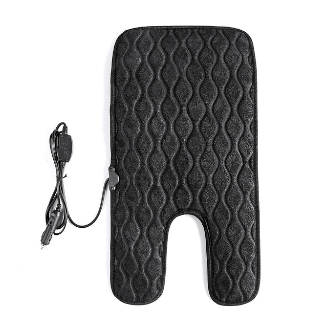 12V Heated Padded Pad Car Seat Cushion Car Auto Seat Cover Warmer Winter For 1-7 Year Old