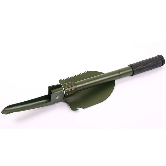 Multifunctional Folding Shovel Steel Shovel For Fishing Outdooors Activities with Compass