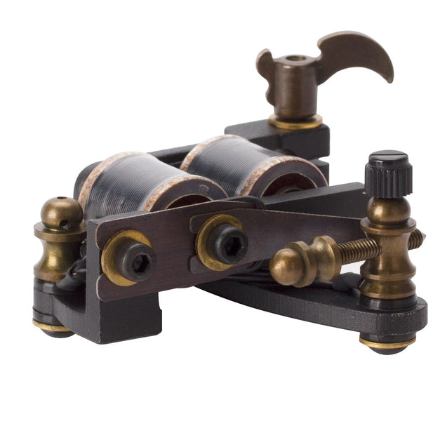 OCOOCOO Zuan ST300 Japan OFC Warps Coils Carved Iron Master Secant Tattoo Machine High Performance