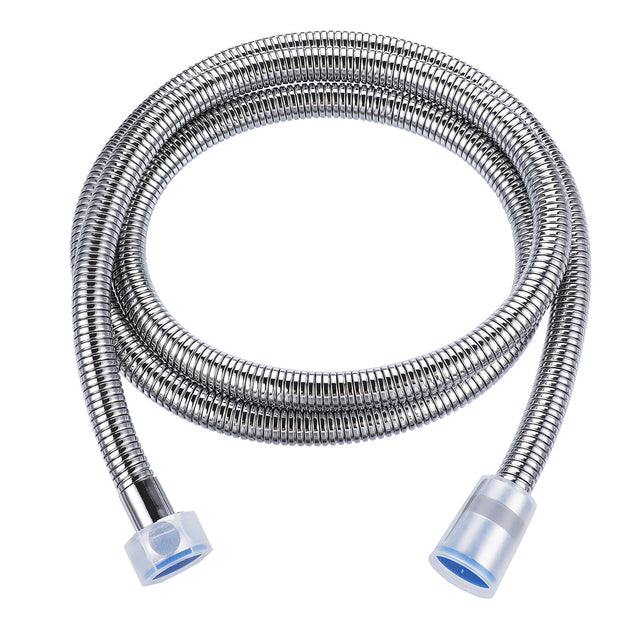 1.5m Flexible Handheld Shower Head Hose Dense Structure Stainless Steel 360 Rotatable Connector