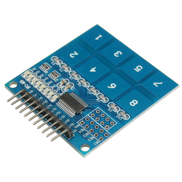 TTP226 8 Channel Digital Capacitive Switch Touch Sensor Module