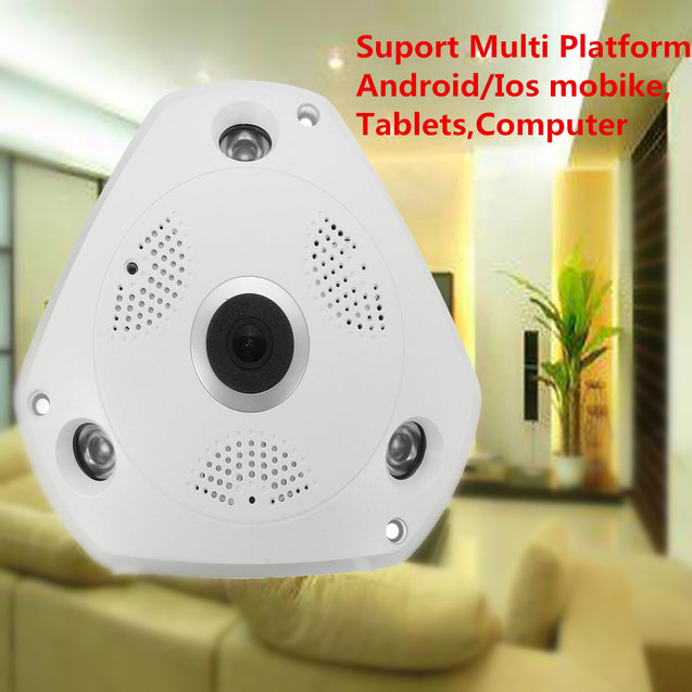 360 Panoramic View HD 960P Night Vision Wireless WiFi Camera CCTV Home Security Camera