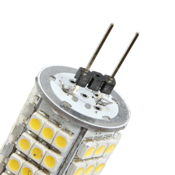 G4 6W Warm White 510LM 102 SMD 3528 LED lights Bulb DC 12V