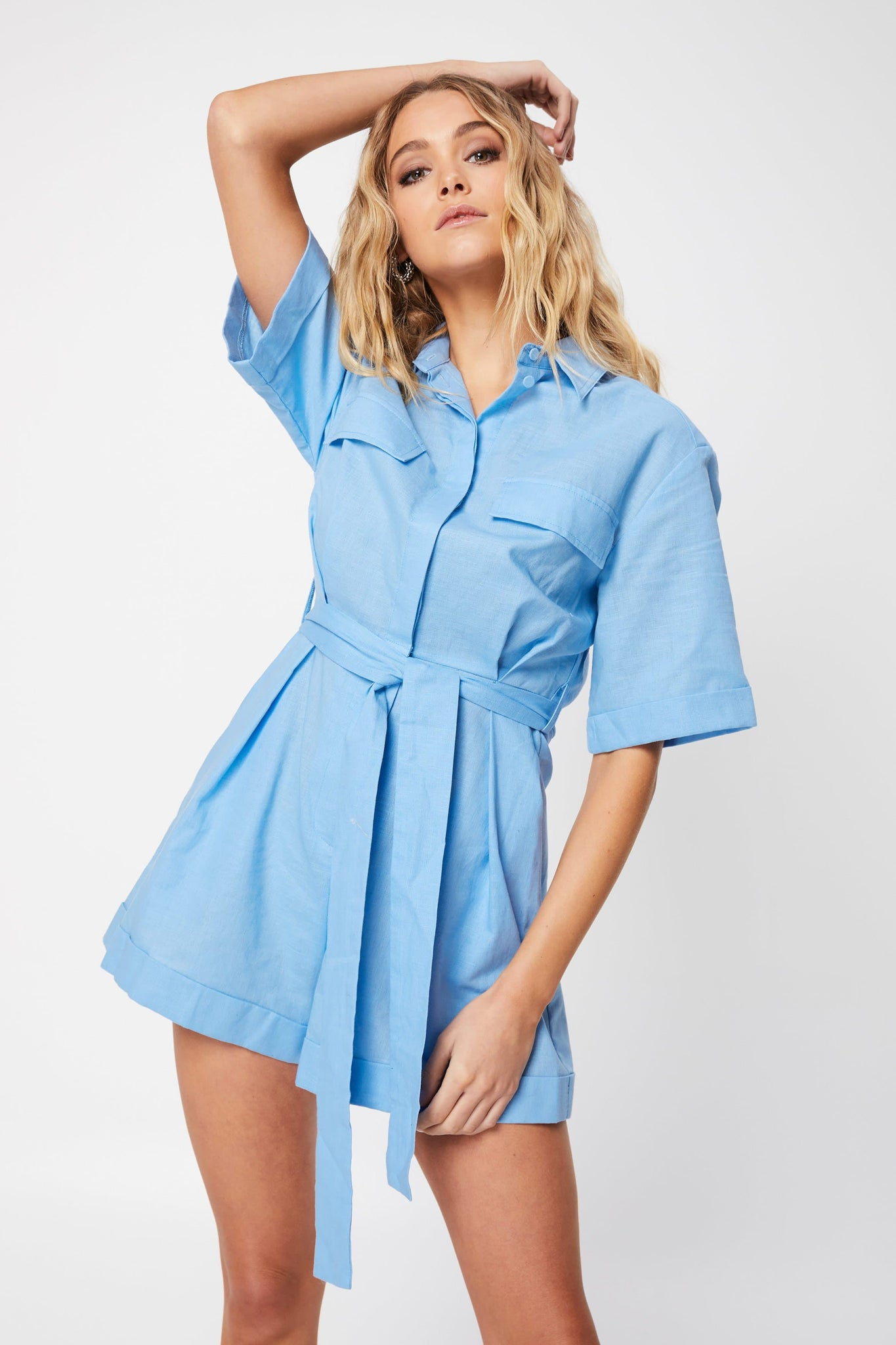 The Blue Light Playsuit