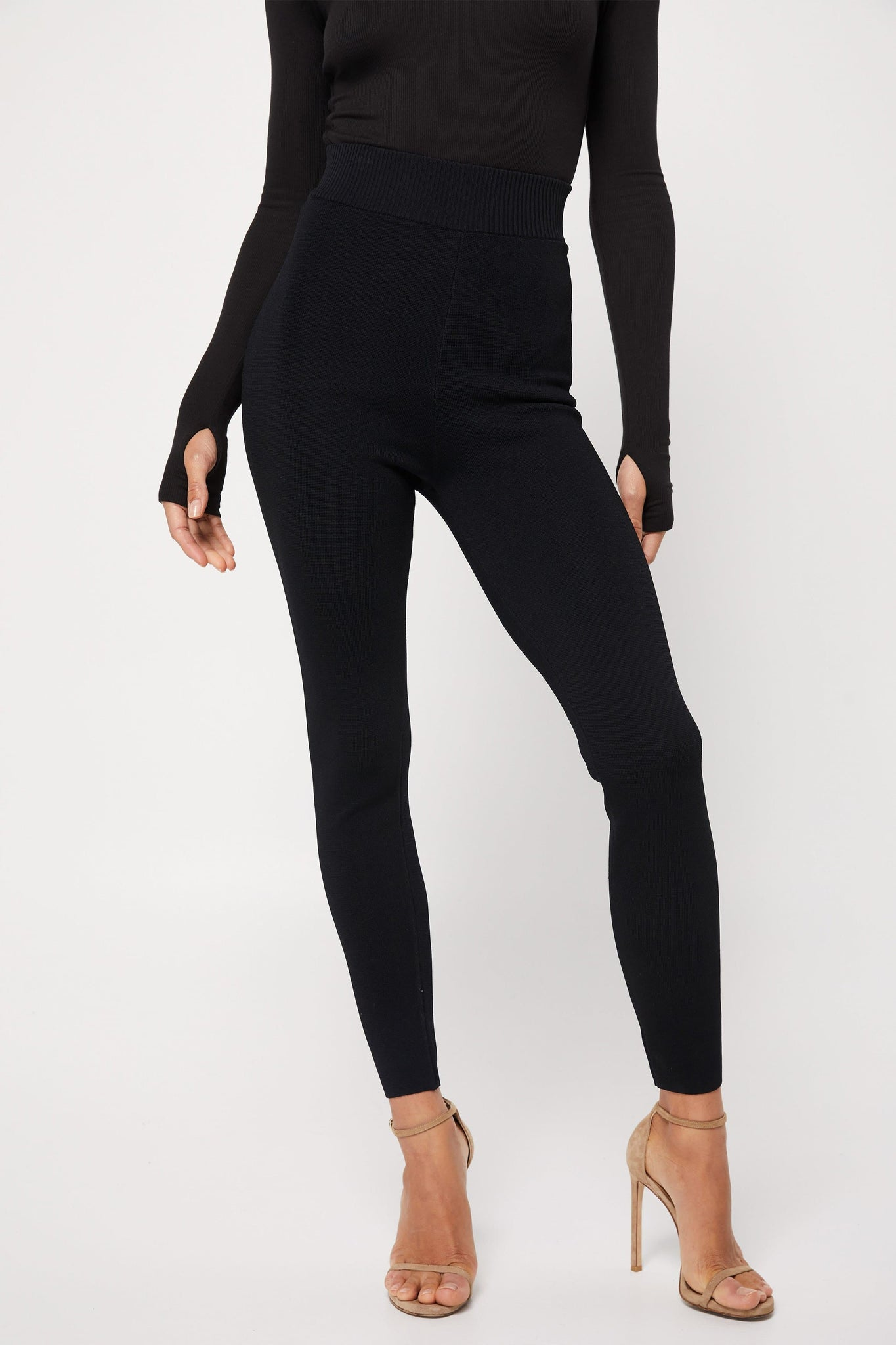 The Soho Knitted Legging