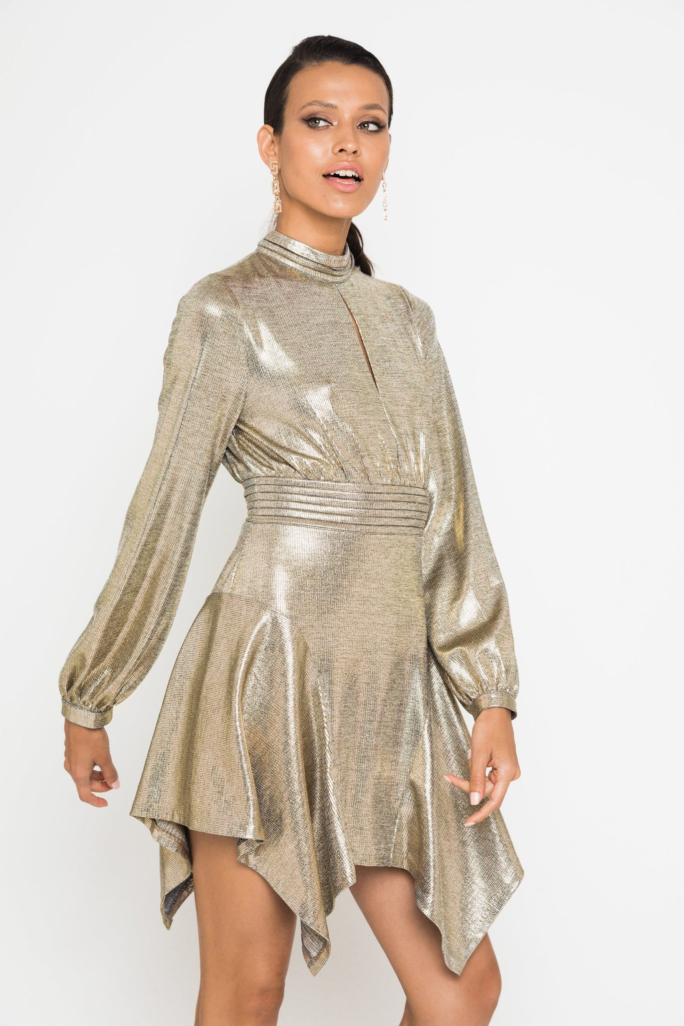 The Golden Era Mini Dress