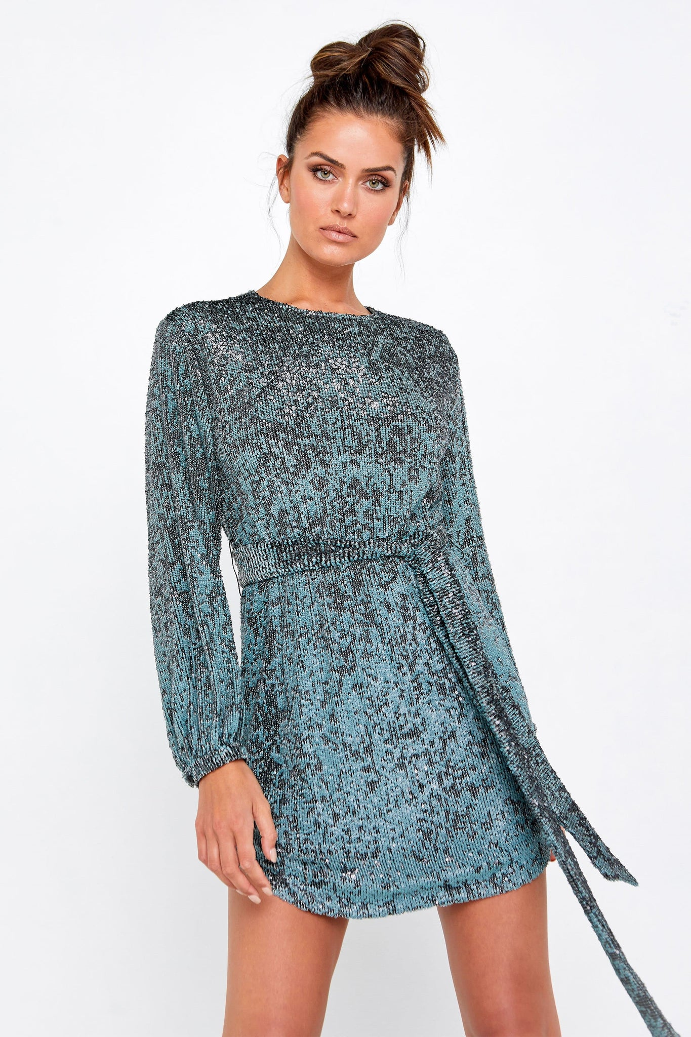 Night Fever Tie Dress