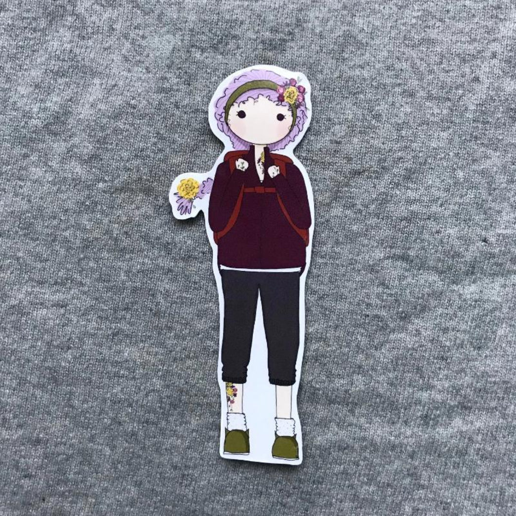 Adventure Girl Bookmark