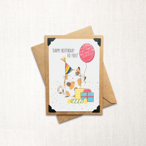 Happy Birthday to You Note Card