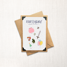 Load image into Gallery viewer, Birthday Essentials Note Card