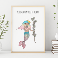 Load image into Gallery viewer, Bloom When You're Ready 11x14 Print