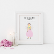 Load image into Gallery viewer, The Book Fairy 5x7 Print
