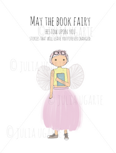 The Book Fairy 8x10 Print